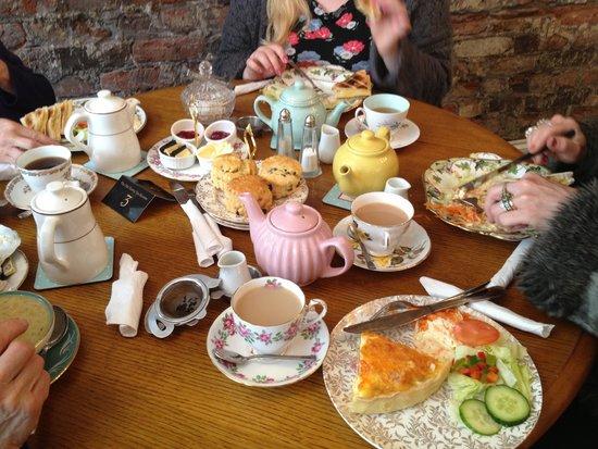 The Old Vestry Tearooms: Tea and treats! Yum yum!