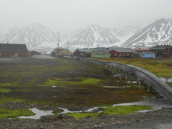 Ny Ålesund + The most Northern Town : The village