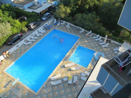 Hotel Mexico : Piscine dall'alto