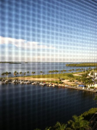 The Westin Cape Coral Resort At Marina Village: View from our Balcony