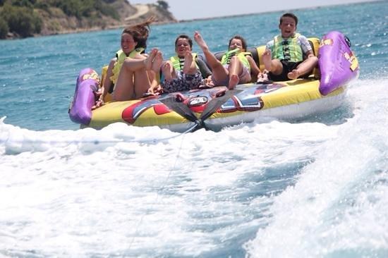 Sani Beach: watersports at Sani