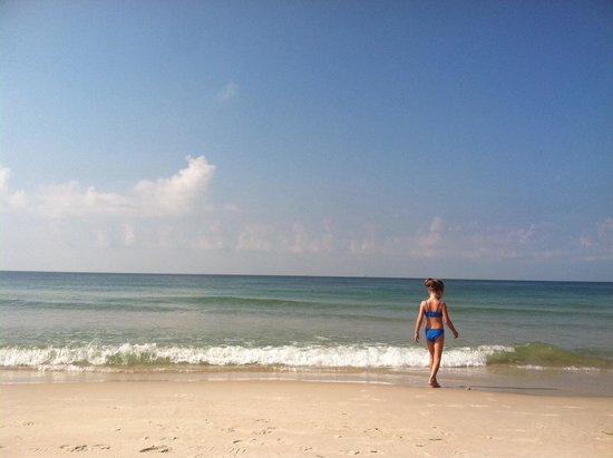 The beach at Gulf Shores Plantations