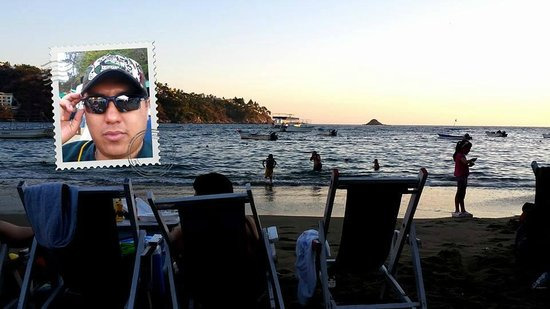 Manzanillo Bay: Buen atardecer