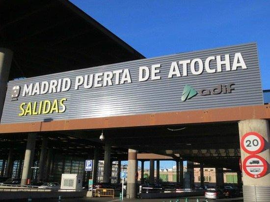 Estación de Atocha: 入口