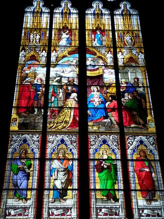 Kölner Dom: Stained glass