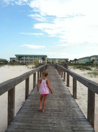 Gulf Shores Plantation: Boardwalk
