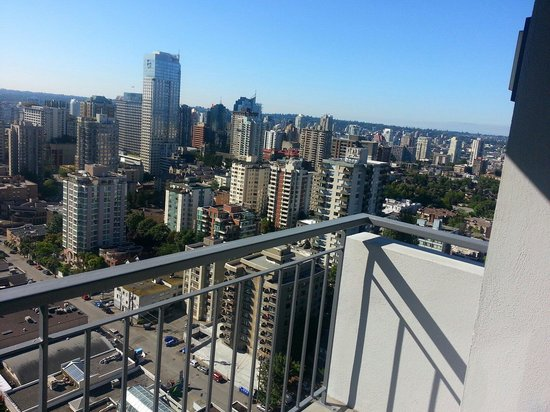Blue Horizon Hotel : View of the city from the 30th floor