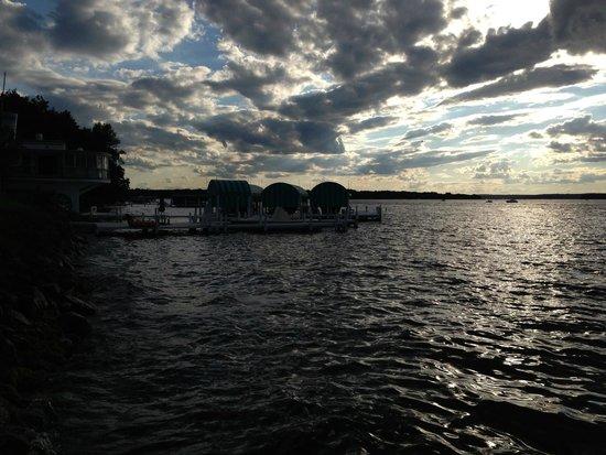 Geneva Inn: Clouds Over Lake Geneva