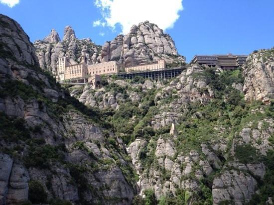 Escolania de Montserrat: 下からも迫力です。