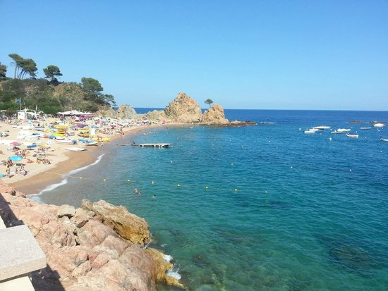 Golden Bahia de Tossa : Пляж