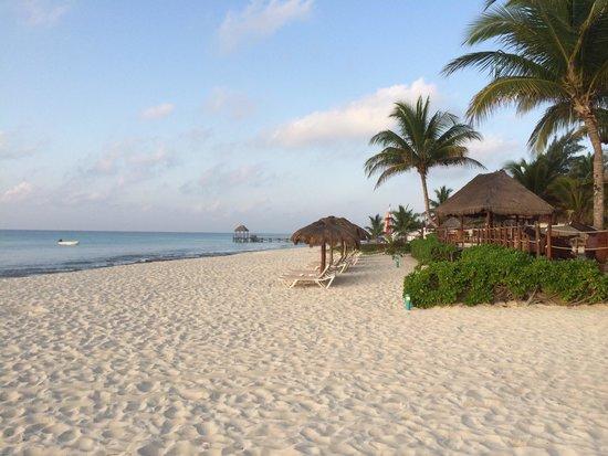 Petit Lafitte: Playa del Hotel