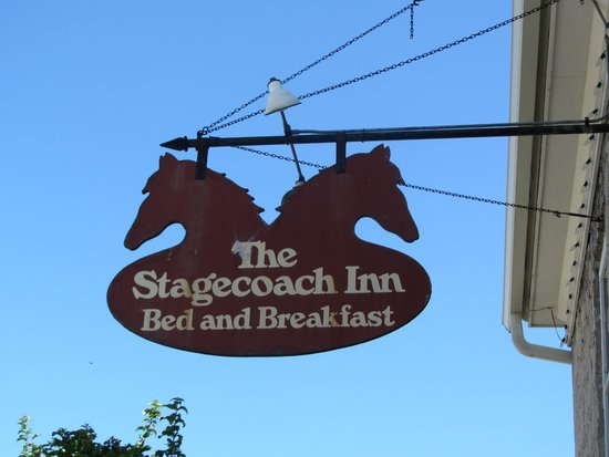 The Stagecoach Inn Bed and Breakfast: Sign