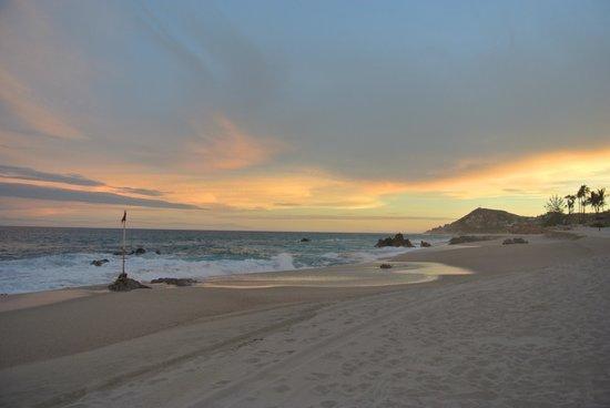 One & Only Palmilla Resort: amazing sunset