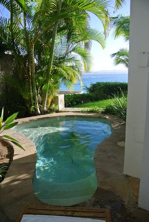 One & Only Palmilla: the plunge pool, very small
