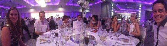 The Malton Hotel: Wedding Table