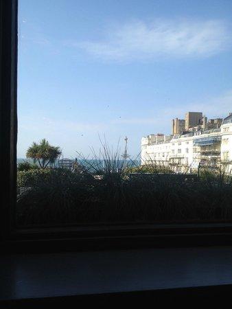 Artist Residence Brighton: vistas des del comedor