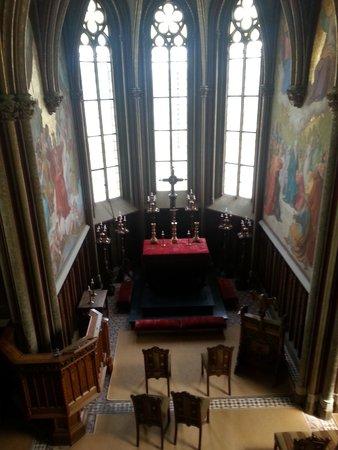 Schloss Stolzenfels: the chapel