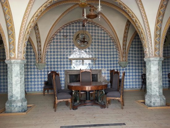 Schloss Stolzenfels: dining area