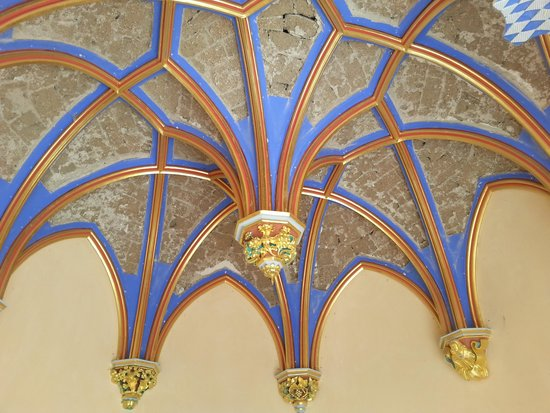 Schloss Stolzenfels: ceiling detail