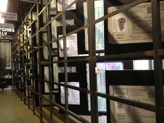 Museo del Apartheid: Grades