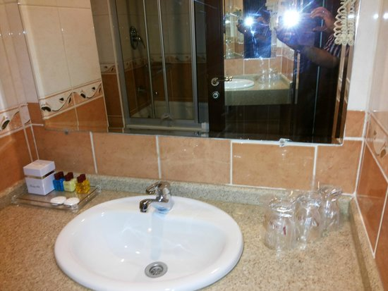 Aspen Hotel: bathroom