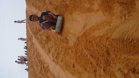 Red Sand Dunes: White Sand Dunes