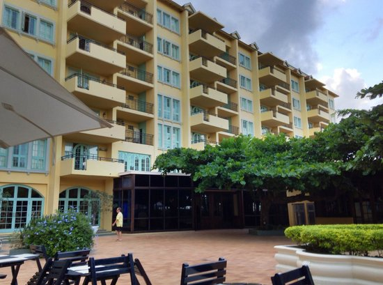 Jewel Dunn's River Beach Resort & Spa : View of the main building