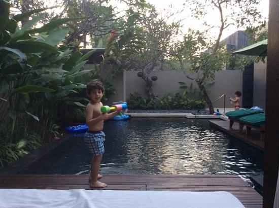 W Bali - Seminyak: the swimming pool of villa 60
