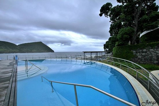 Hotel do Caracol : Piscina com vista deslumbrante
