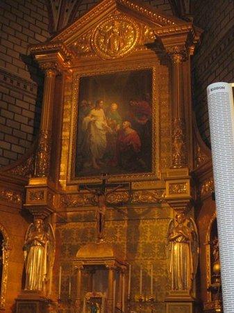 Iglesia de Santo Tome: 教会内部