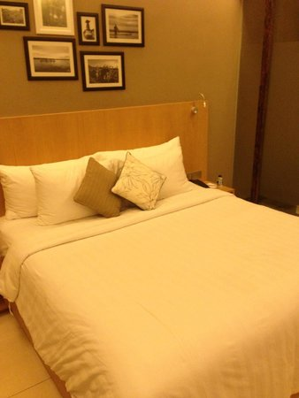 Ossotel: Nice bed