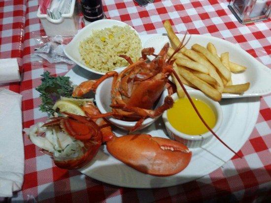 Lobster Pot Restaurant : Boiled Maine lobster