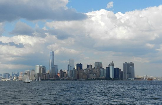 Manhattan Skyline: View from Liberty Island