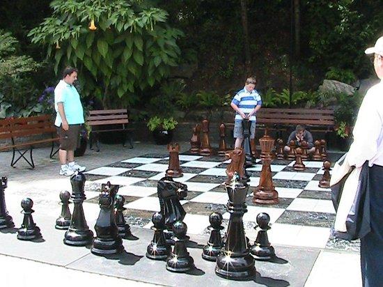 Butchart Gardens: Giant Chess Board