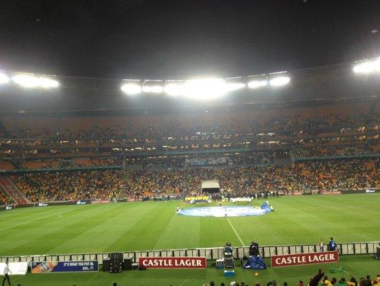 FNB Stadium: FNB - Brasil x Africa do Sul em 2014
