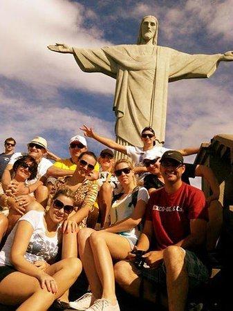 Estatua de Cristo el Redentor: Amigos