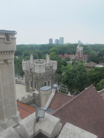 Casa Loma: the view from on of the two towers