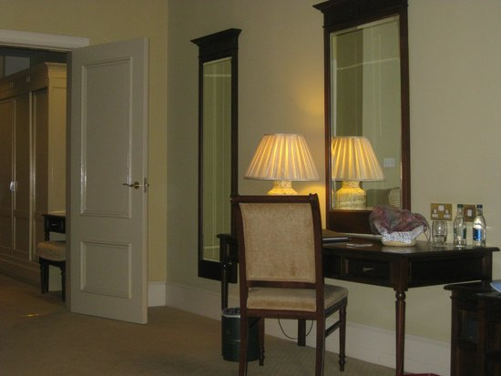 Knockranny House Hotel : View inside the room
