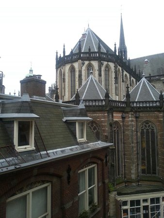 BEST WESTERN Dam Square Inn : View from our room