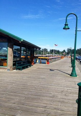 Cranberry Sweets: The boardwalk across the street