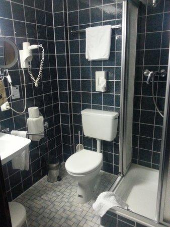 Hotel Schoene Aussicht: bathroom