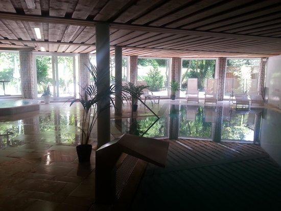 Hotel Schöne Aussicht: swimming pool area