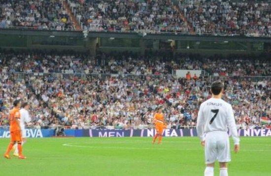 Estadio Santiago Bernabéu: クリロナ