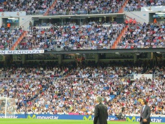 Estadio Santiago Bernabéu: 両監督