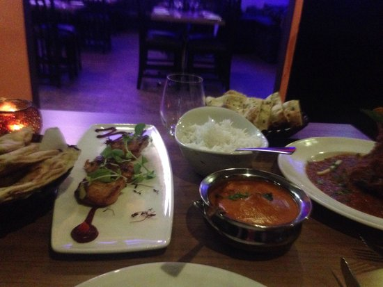 Yukti: Sensational service and food.