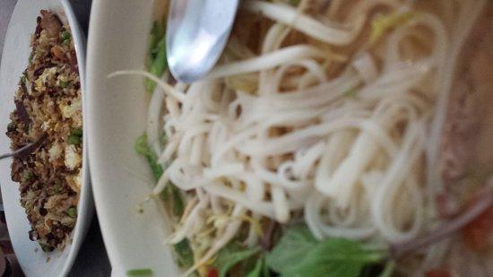 Pho Vietnam: Pho sizzle