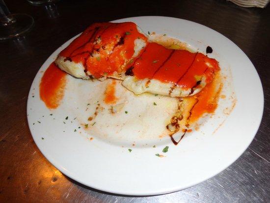 Bar Estrella : Bacalao confitado con tomate