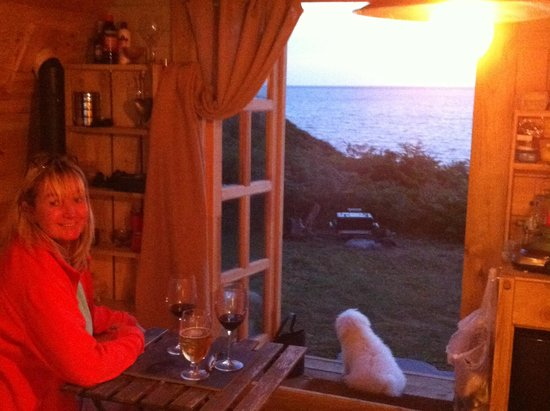 Bach Wen Cottages: Room with a view