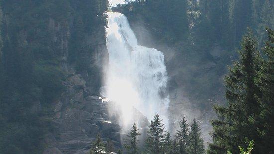 Krimml Falls (Krimmler Wasserfalle): Oberer Wasserfall