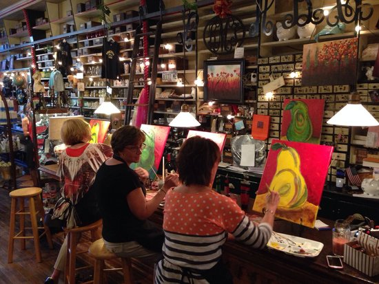 Beetz Me: Club Wineaux! Paint and wine tasting!!
